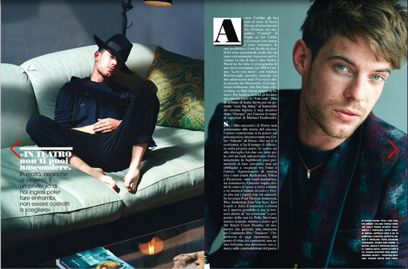 harry treadaway photoshoot