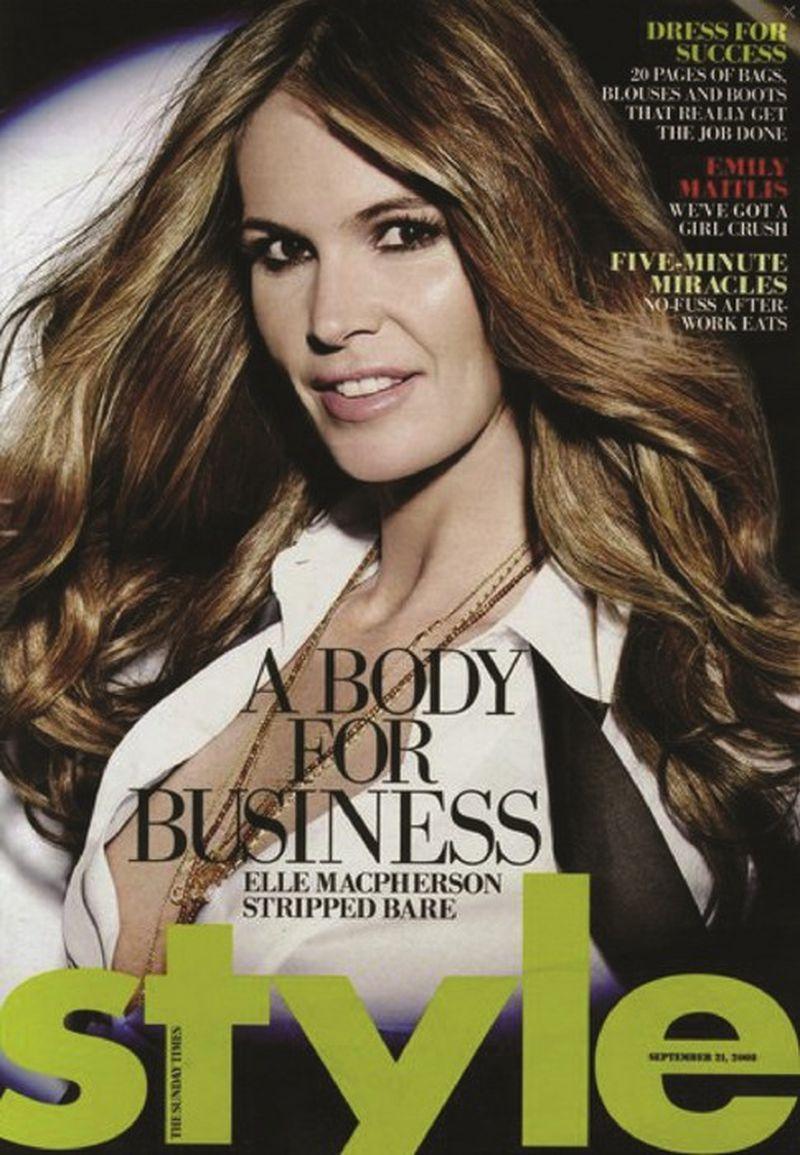Sunday Style Magazine September 2014 Cover (Sunday Style Australia)