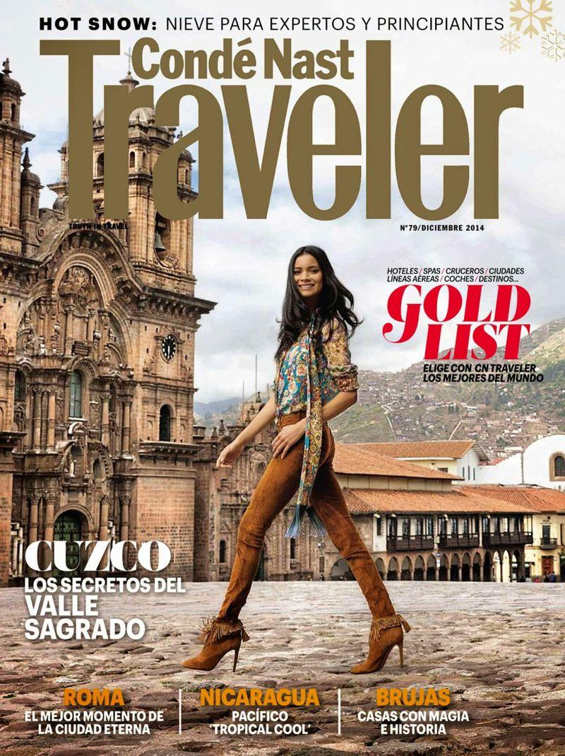 Conde Nast Traveler December 2014 Cover Conde Nast