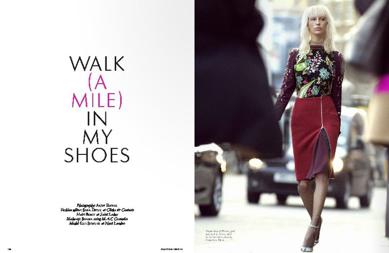 walk a mile in my shoes black magazine