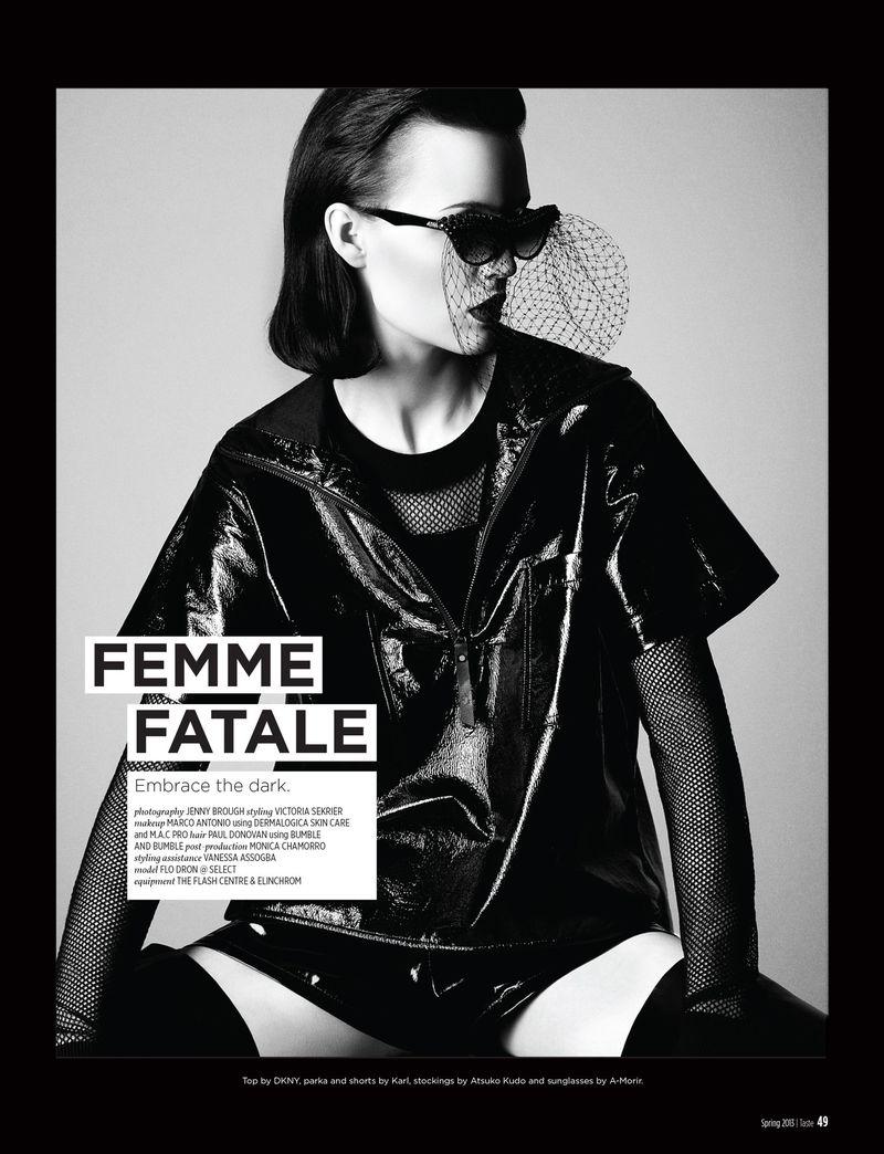 Femme Fatale (Various Editorials)