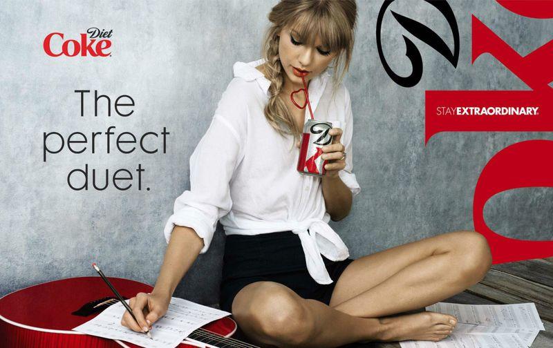 Taylor Swift For Diet Coke 2013 Coca Cola