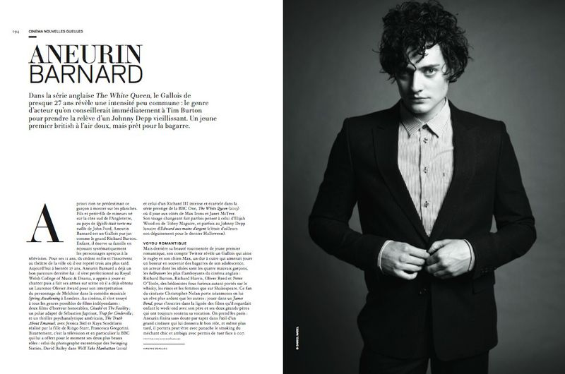aneurin barnard doctor who