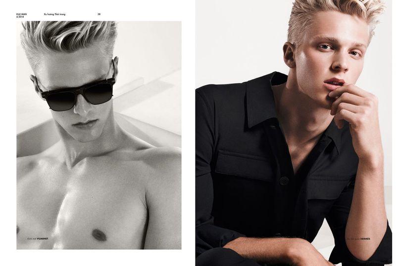 Gay Moda: Clark Bockelman for Elle Man Vietnam by Anthony