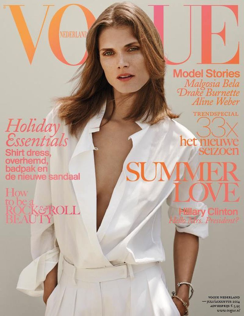 Bela malgosia vogue netherlands julyaugust recommendations to wear for everyday in 2019