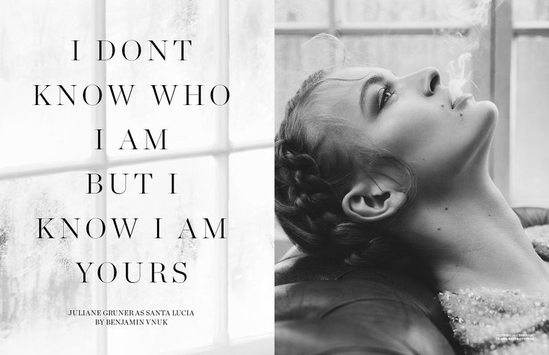 I Dont Know Who I Am But I Know I Am Yours Scandinavia Ssaw Magazine