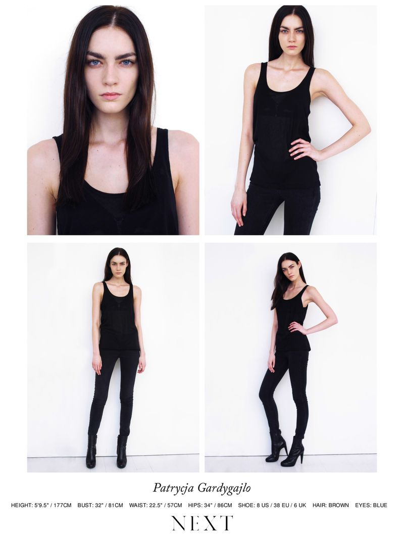 Next Models NY FW  PolaroidsPortraits PolaroidsDigitals - Next hair