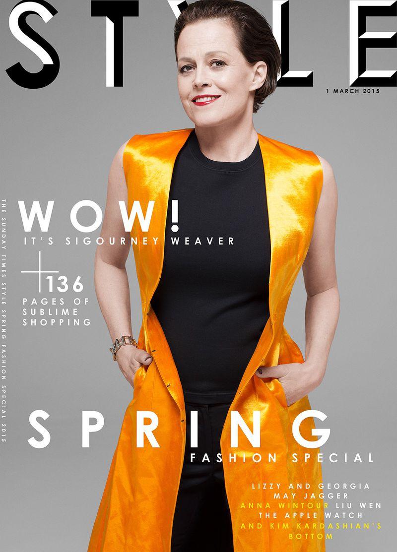 Sunday Times Style Magazine Spring 2015 Covers Sunday