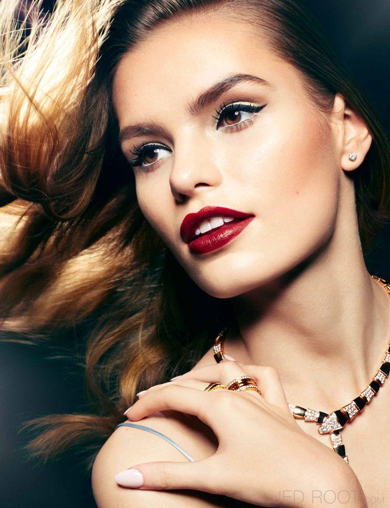 Elias Hove For Schön Magazine: Lancome Beauty (Wonderland Magazine