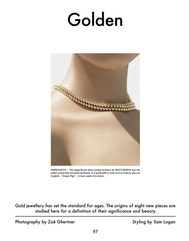 Golden (The Gentlewoman)