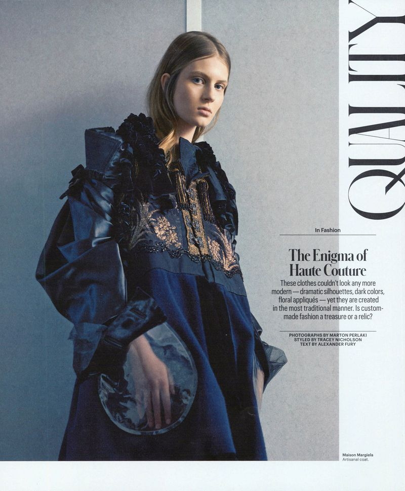 The Enigma of Haute Couture (The New York Times Style Magazine)