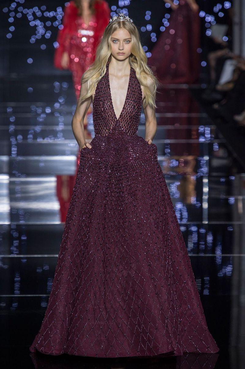 Zuhair murad haute couture fall 2015 show zuhair murad for Haute couture members