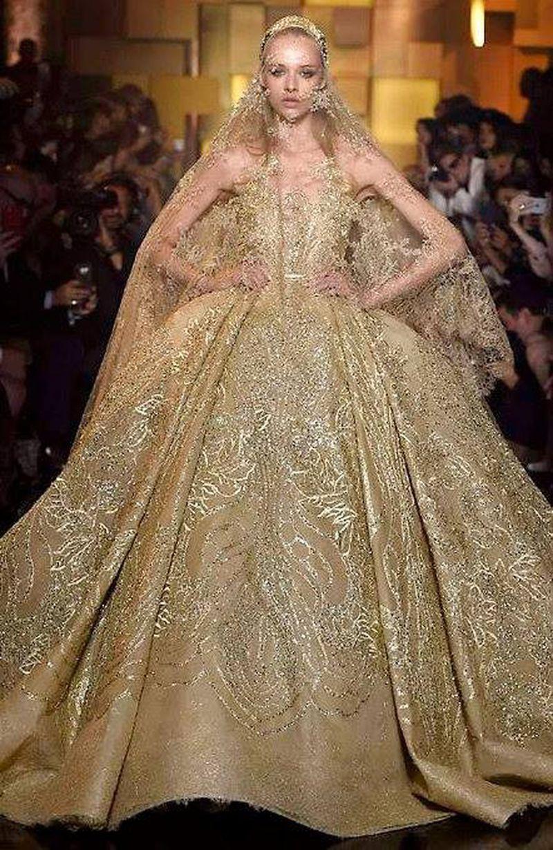 53a9241744f Elie Saab Haute Couture Fall 2015 Show (Elie Saab)