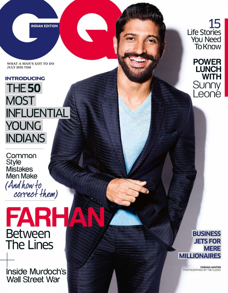 Image result for farhan akhtar GQ