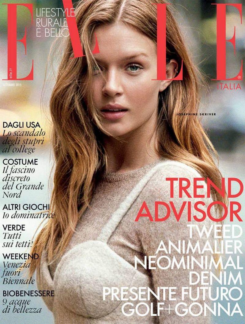 Elle italia september 2015 cover elle italia for Elle italia