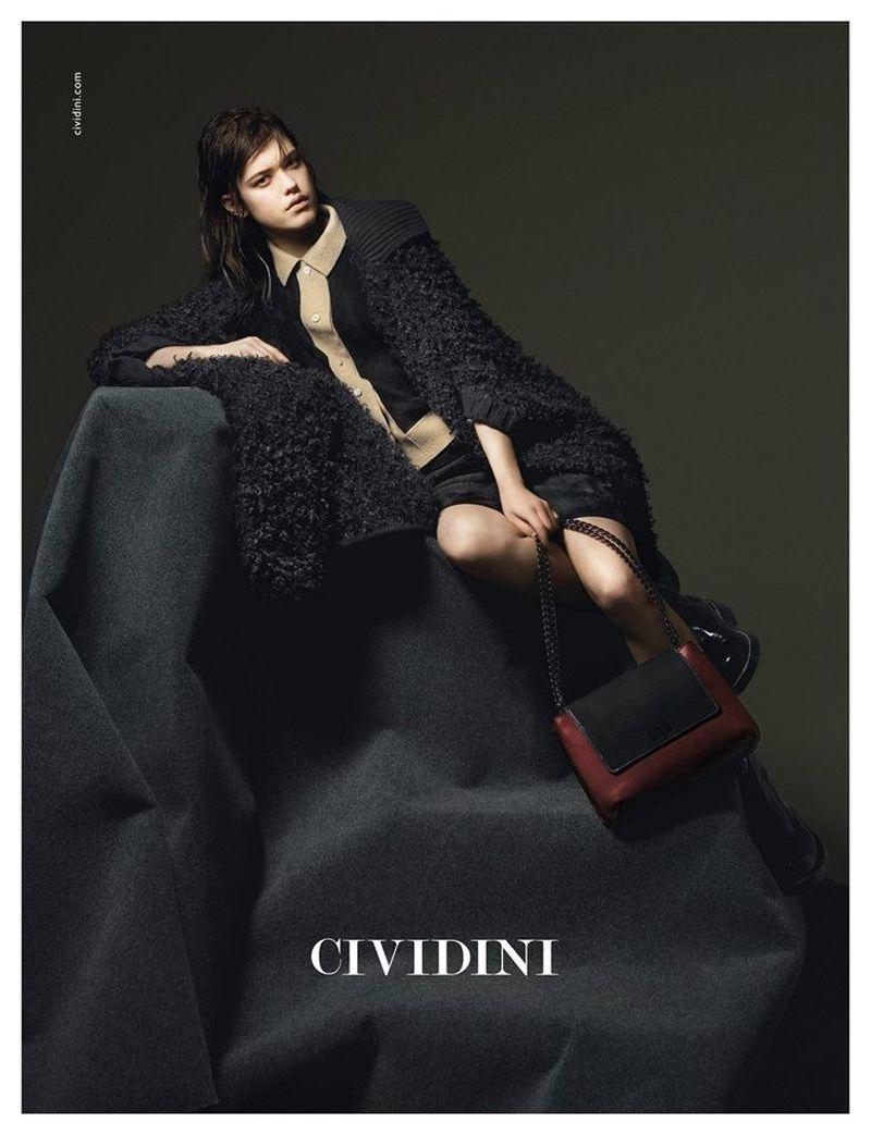 brand new 2c254 c8f66 Cividini A/W 15 campaign (Cividini)