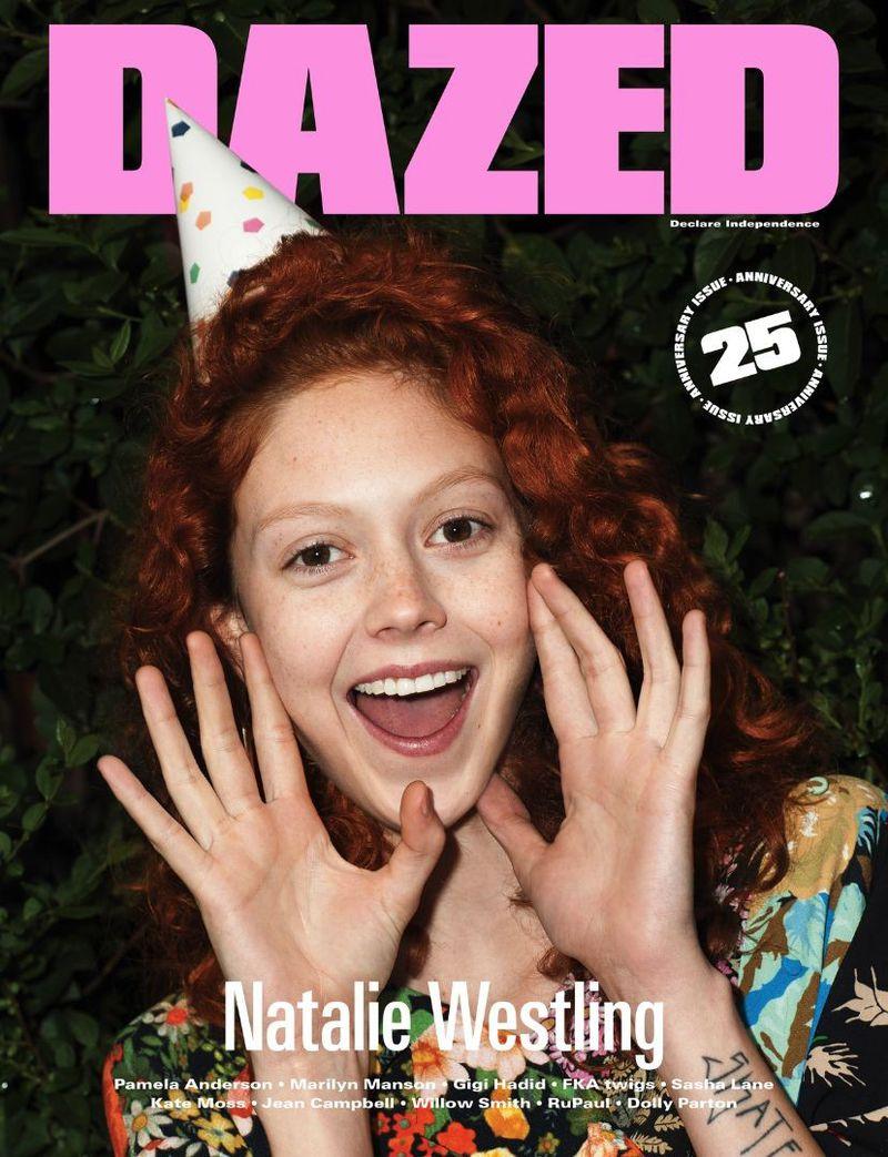 Dazed magazine 25 anniversary issue covers dazed magazine for Anniversary magazine