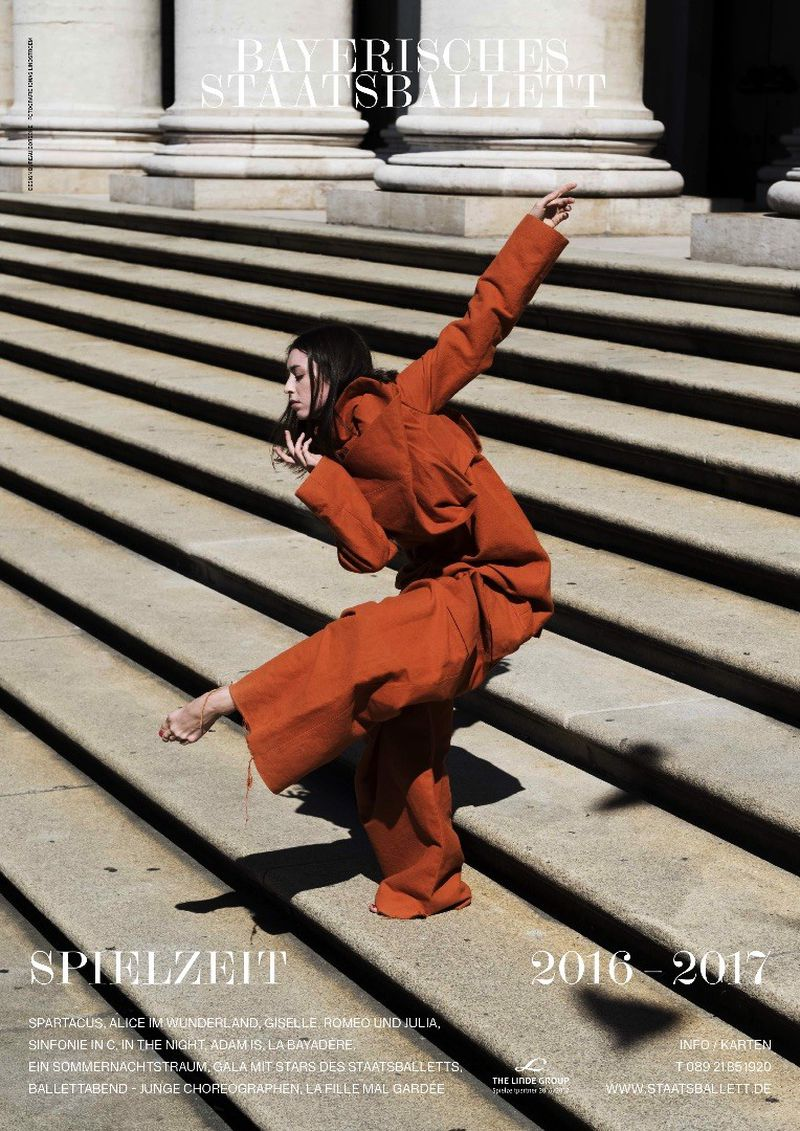 Bavarian State Ballet Campaign Exclusively In Rick Owens Various