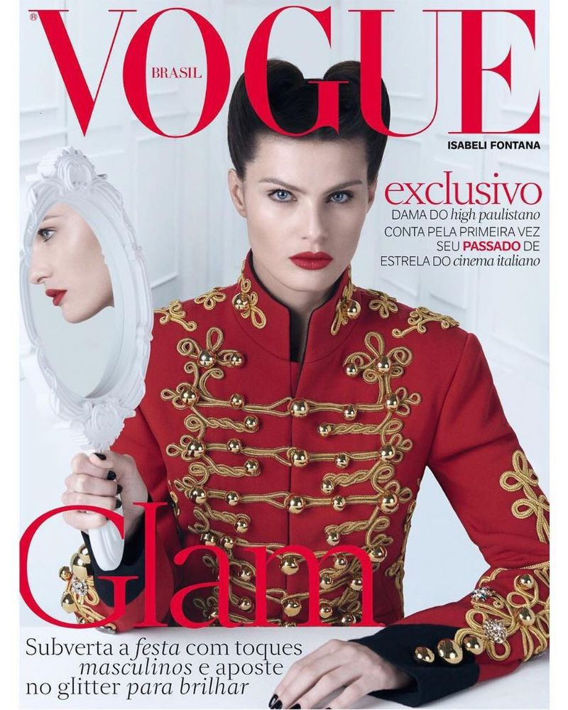 40b99e84ac9cd Vogue Brazil December 2016 Cover (Vogue Brasil)