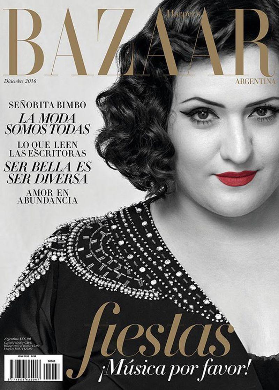 Harper 39 s bazaar argentina december 2016 cover harper 39 s for Bazaar argentina