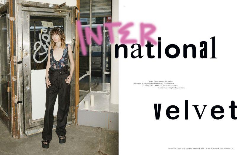 International Velvet Clementine Creevy Rollacoaster Magazine
