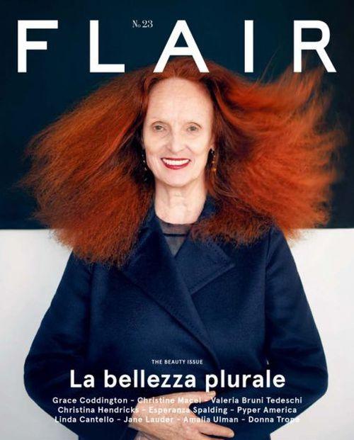 Grace Coddington Fashion Editor Stylist Profile Photos