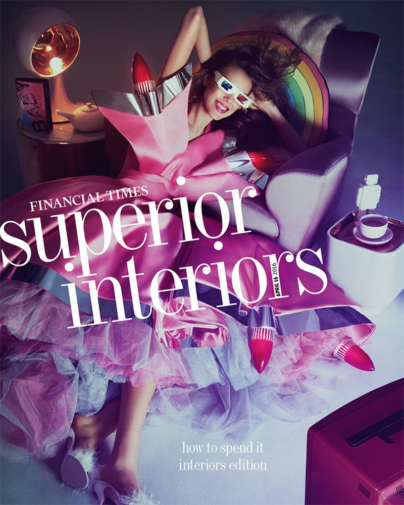 The Financial Times April 2016 Cover: Superior Interiors (The Financial  Times How To Spend It Magazine)