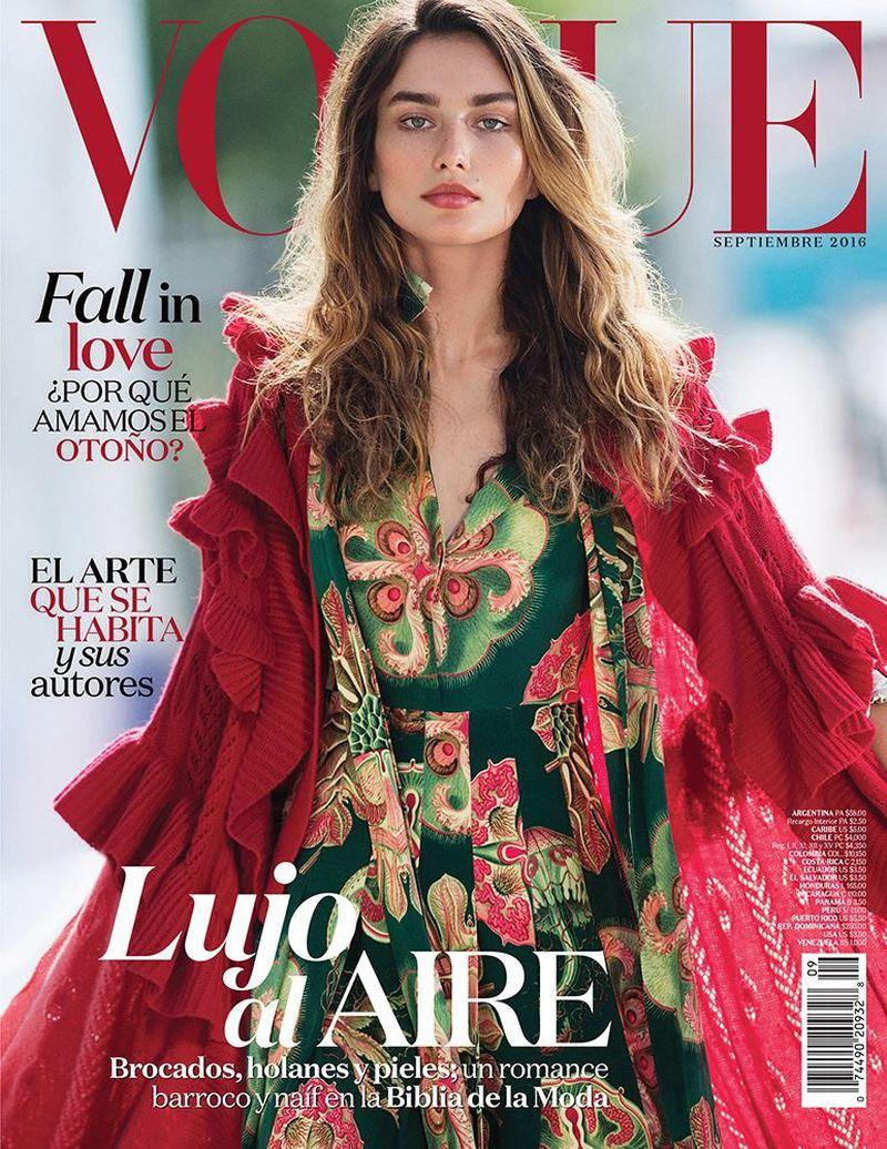 a1e6872f22ad Vogue Mexico September 2016 Covers (Vogue Mexico)
