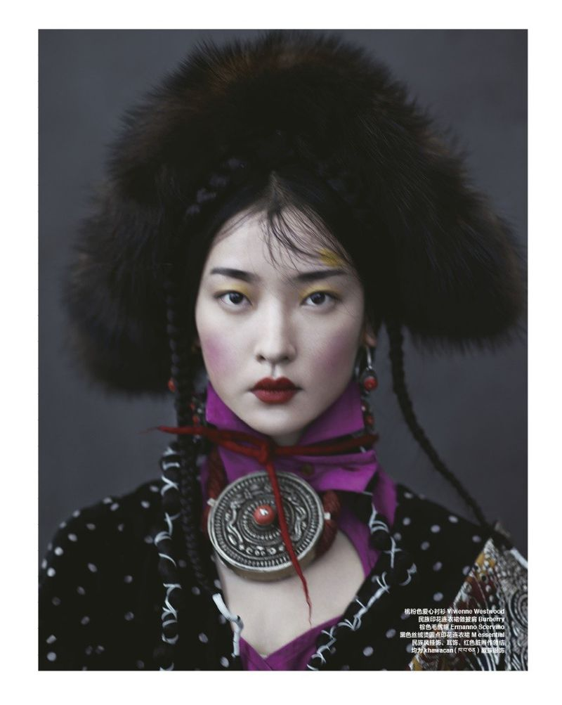WHISPER OF TIBET (Harper's Bazaar China)