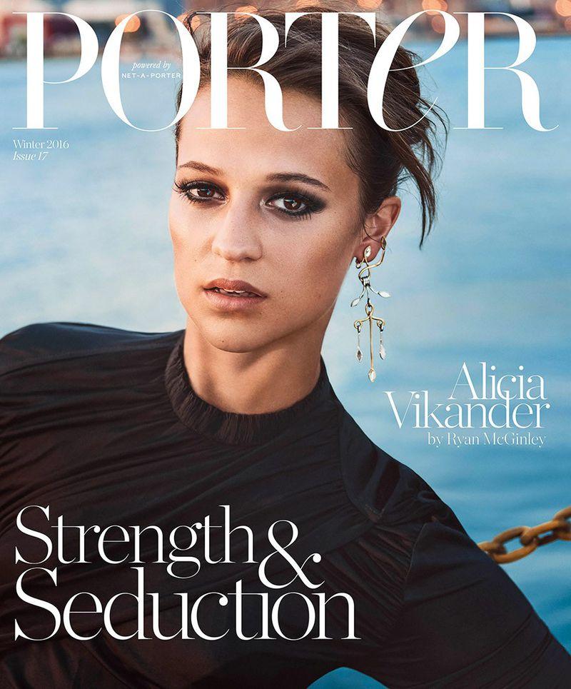 porter magazine winter 2016 cover porter magazine. Black Bedroom Furniture Sets. Home Design Ideas