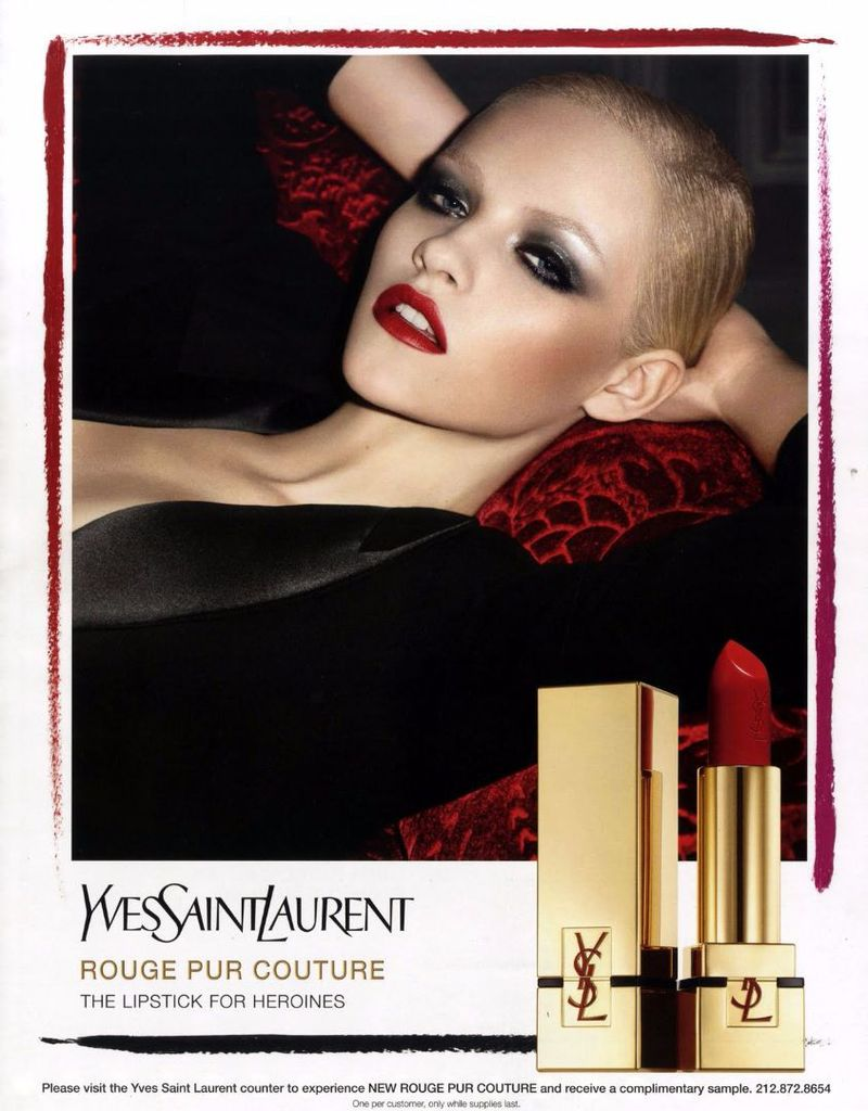 ysl beauty fall 2012 yves saint laurent beauty. Black Bedroom Furniture Sets. Home Design Ideas