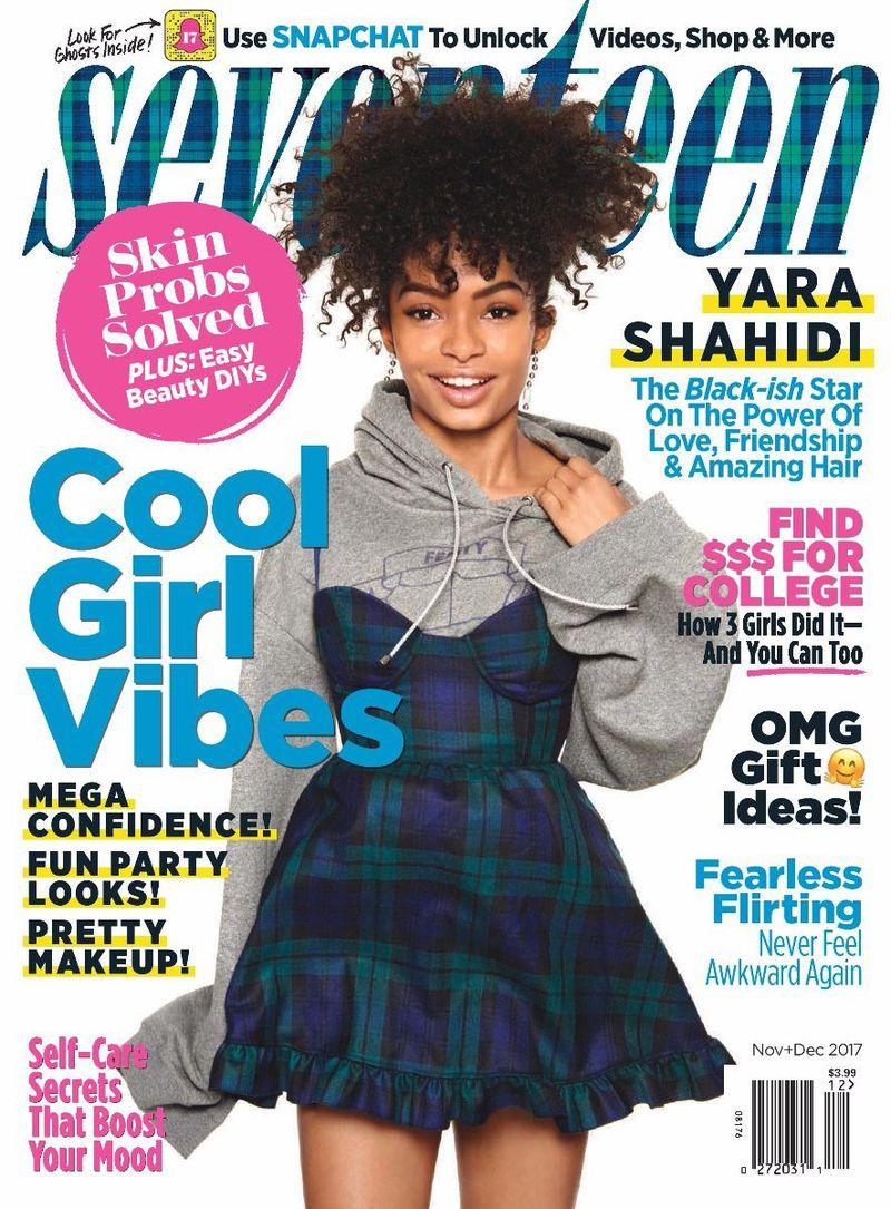 Seventeen Magazine Nov/Dec 2017 Cover (Seventeen Magazine)  Seventeen