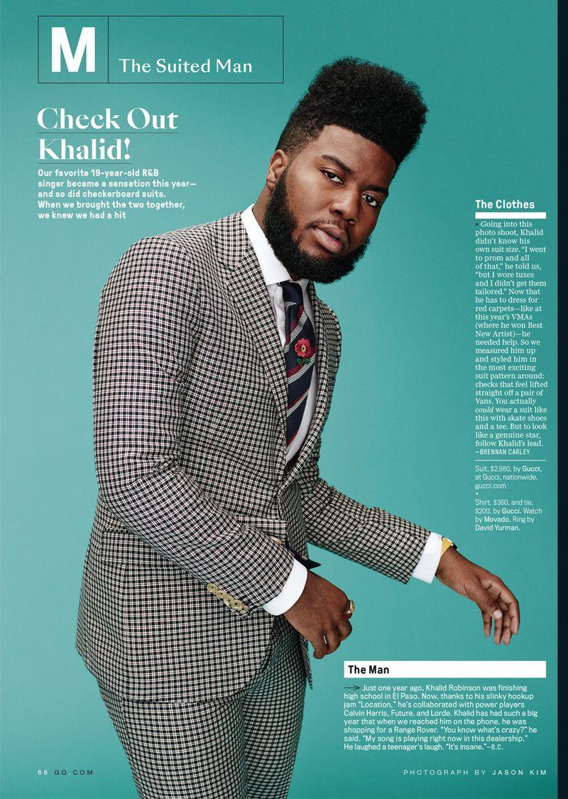 Khalid Gq Magazine U S