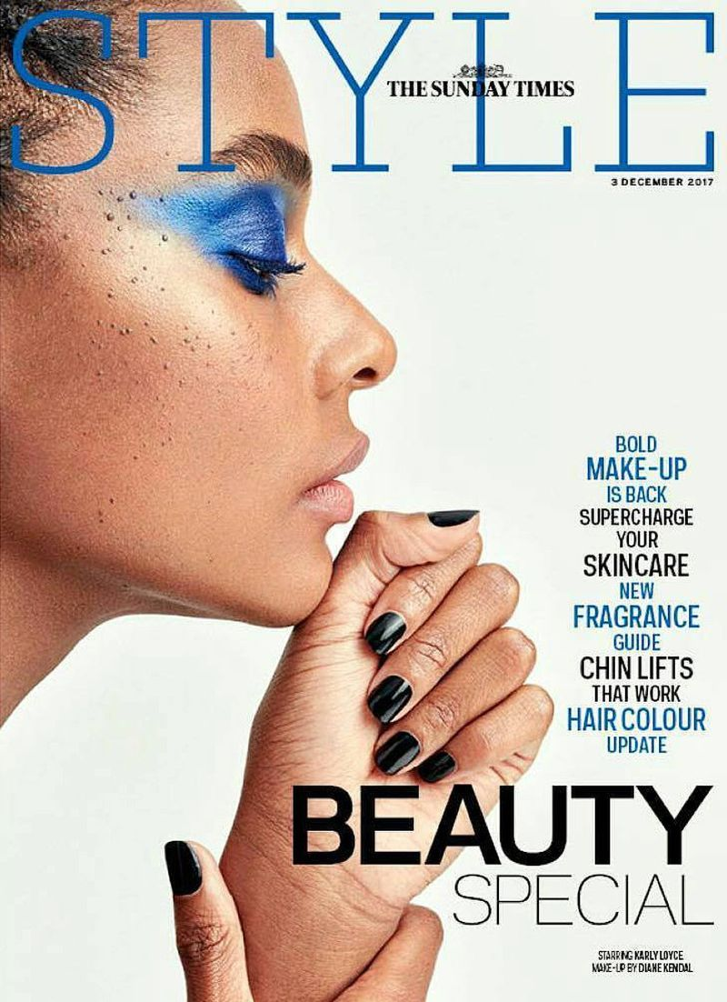 Sunday Times Style Magazine December 3rd 2017 Cover The