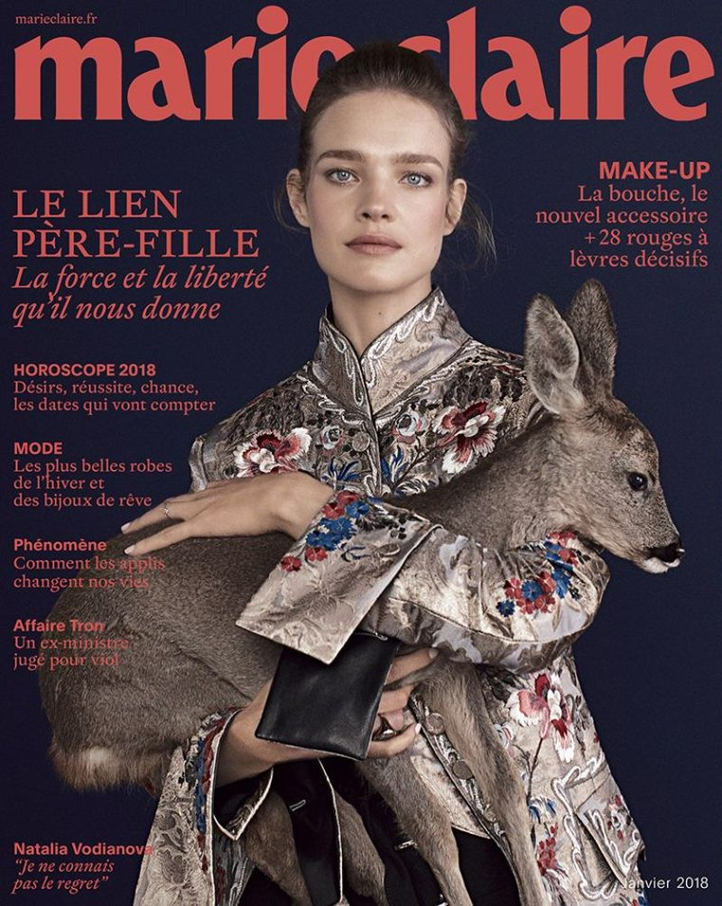 ZANA BAYNE featured in MARIE CLAIRE France