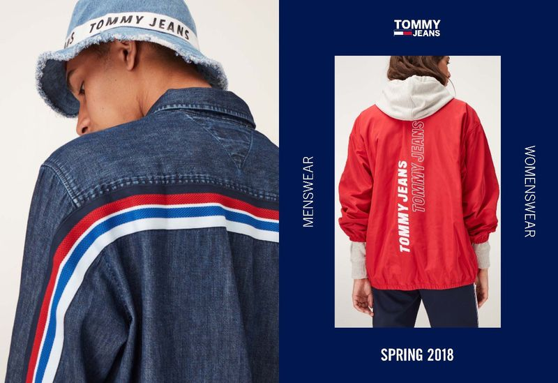 613cacc5 Tommy Jeans Spring 18 Menswear & Womenswear Collection (Tommy Hilfiger)