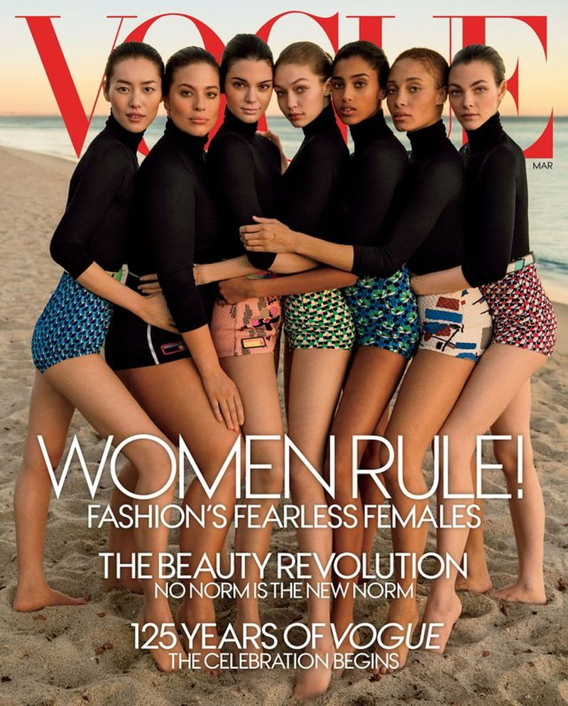 Vogue Magazine March 2017 Cover (American Vogue) 972c71040