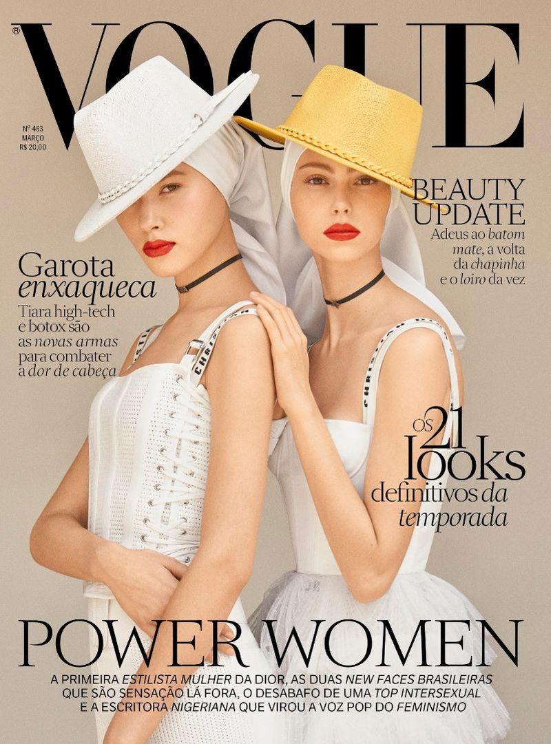 Vogue brazil march 2017 covers vogue brasil Revista fashion style magazine