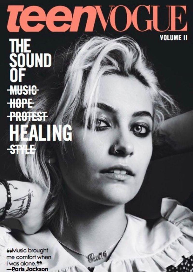 Teen vogee magazine covers