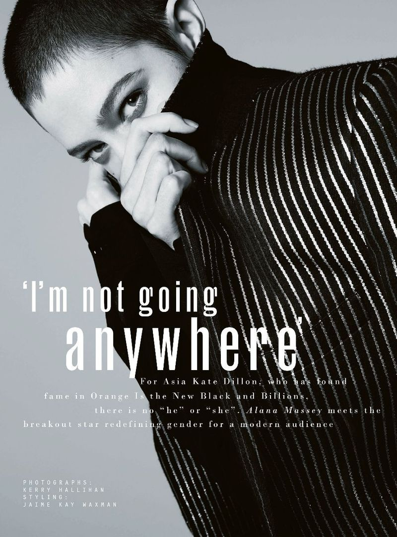 I 39 M Not Going Anywhere The Sunday Times Style Magazine Uk