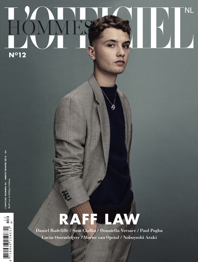 Raff Law L Officiel Hommes Netherlands