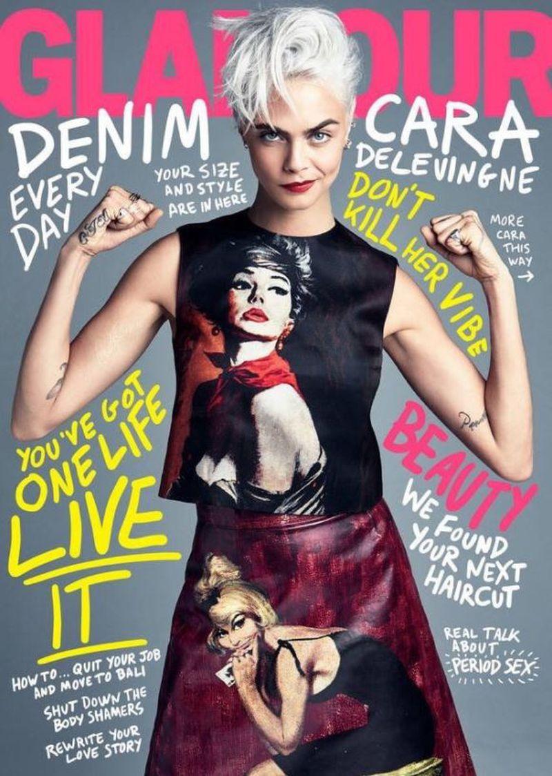 glamour magazine us august 2017 cover glamour magazine