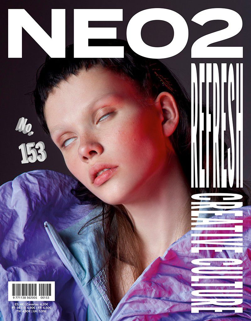 Ron Wan: Neo2 Magazine from Madrid, Spain. Design Clippings, Mention and Features