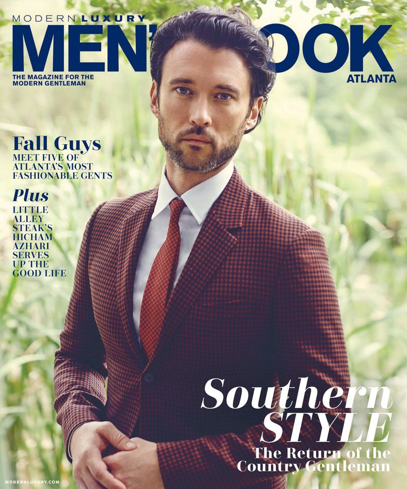 Modern Luxury Atlanta: Men's Book Fall 2017 Cover (Modern Luxury)