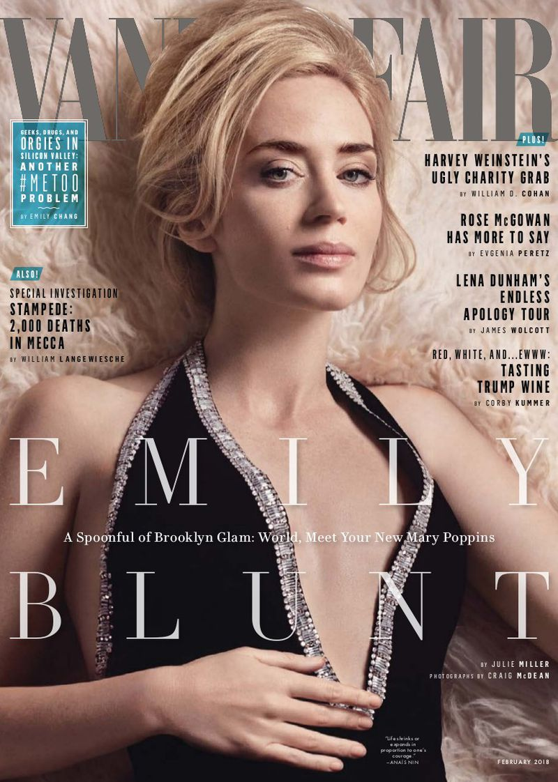Vanity Fair U S February 2018 Cover Vanity Fair U S