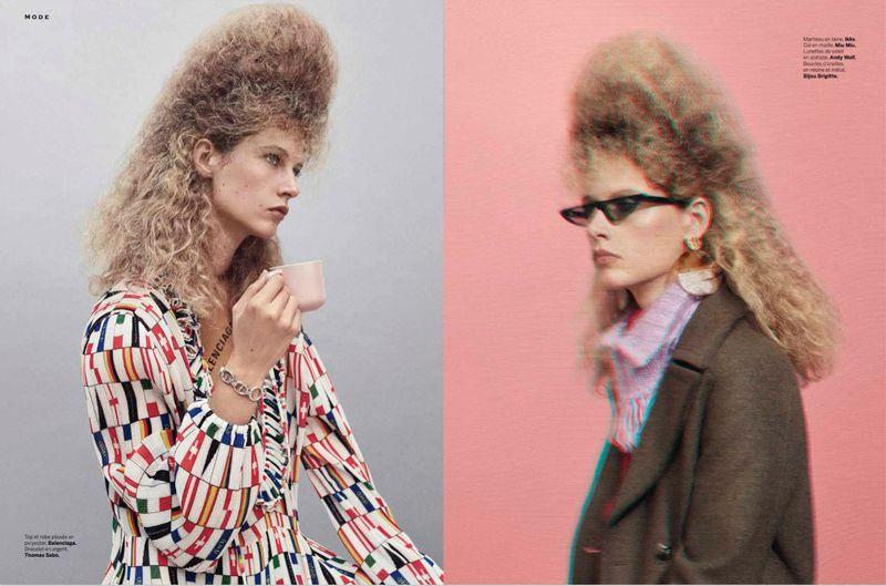 Se Creper Le Chignon Stylist Magazine France