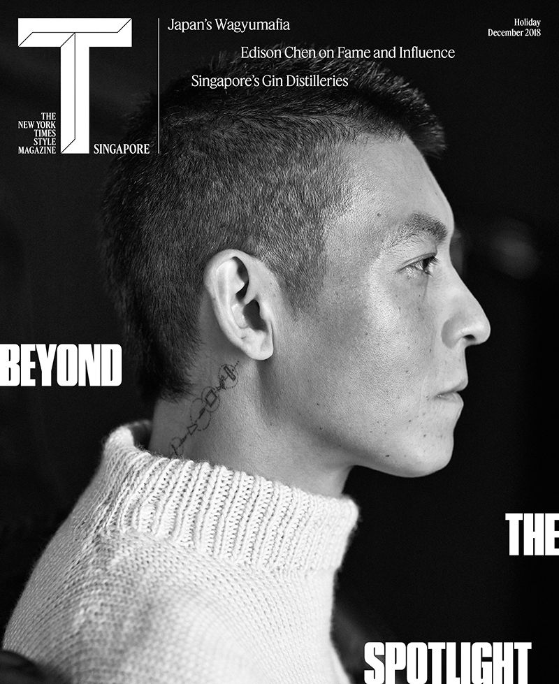 The New York Times Style Magazine Singapore December 2018 Cover