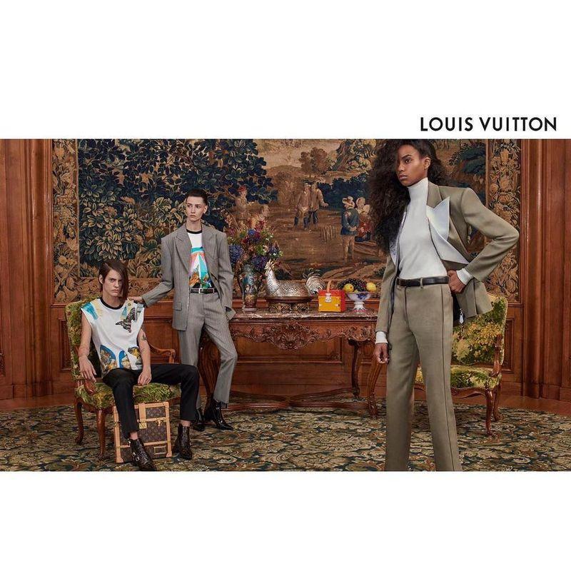 edd9de2afeff Louis Vuitton S S 2019 Campaign (Louis Vuitton)