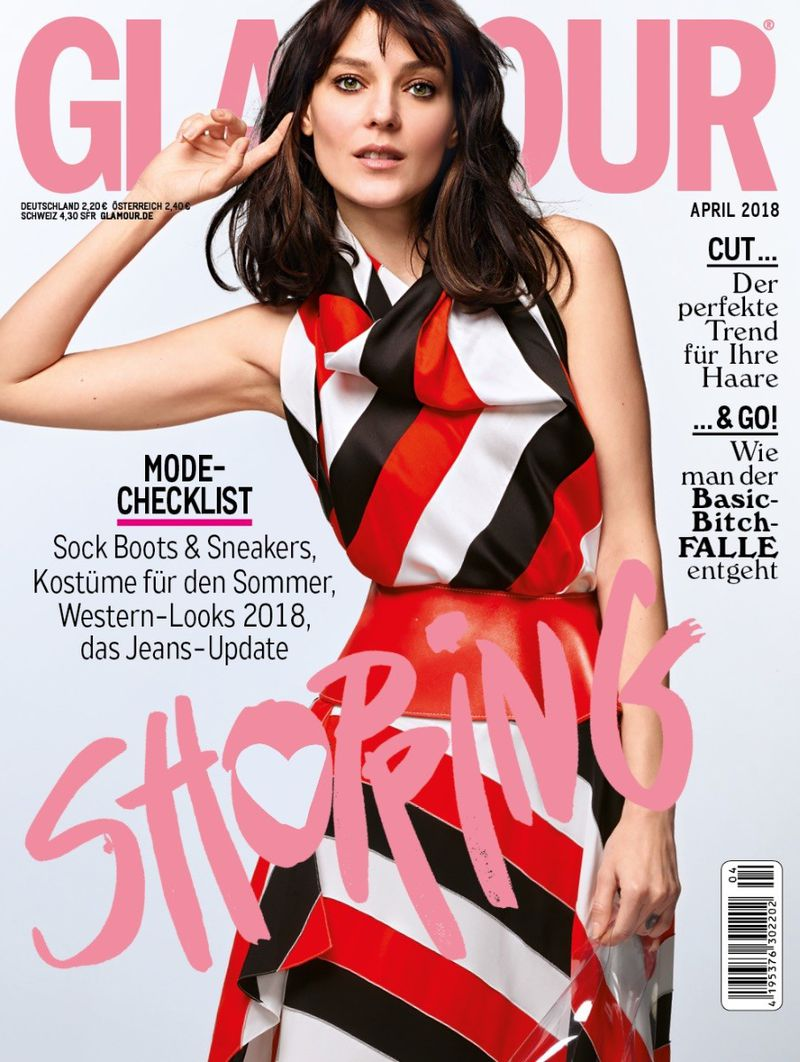 Glamour Germany April 2018 Cover Glamour Germany