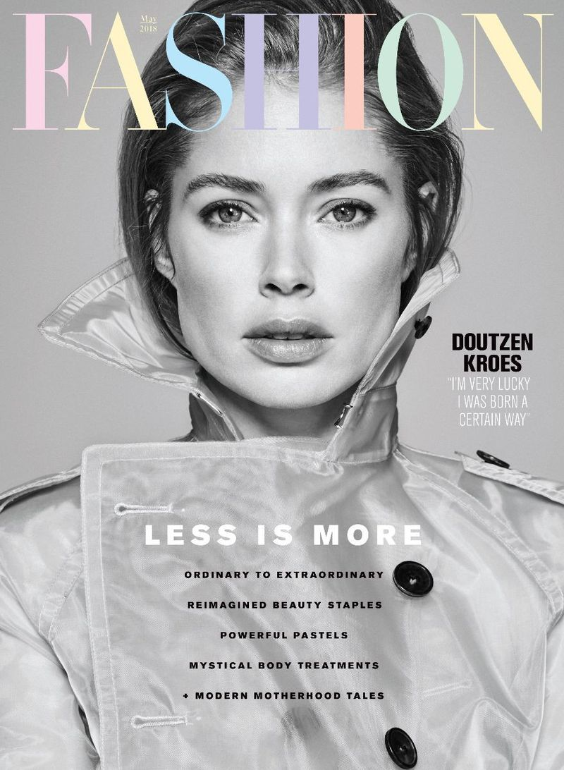 Fashion Magazine May 2018 Cover (Fashion Magazine Canada